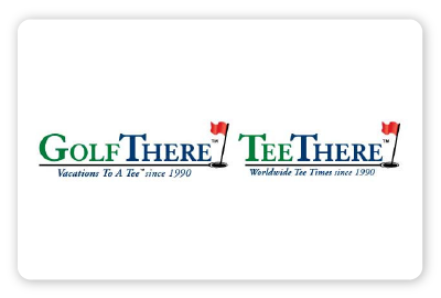 Golf There/Tee There logo