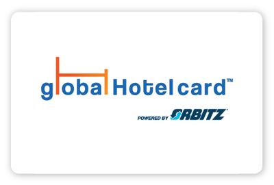 Global Hotel Gift Card powered by Orbitz logo